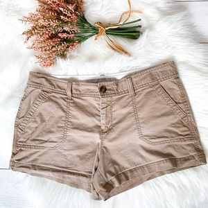 Old Navy low rise khaki shorts